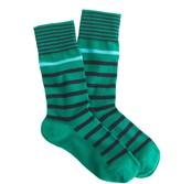 J.Crew Mixed-stripe socks
