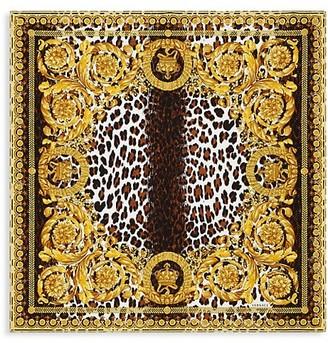 Versace Printed Silk Scarf