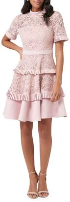 Ever New Raine Lace A-Line Prom Dress