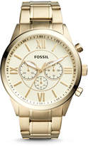Fossil Flynn Chronograph Gold-Tone Stainless Steel Watch