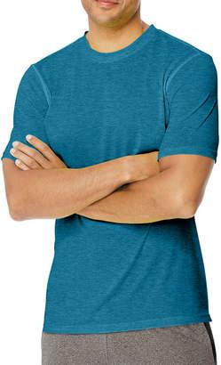 Hanes Mens Crew Neck Short Sleeve Moisture Wicking T-Shirt