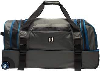 "Ful FUL Streamline 30"" Soft Rolling Duffel Bag"