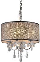 Tiffany & Co. Warehouse of Lush 4-Light Drum Chandelier