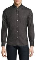 Officine Generale Antime Cotton Button-Down Dress Shirt