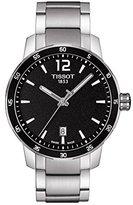 Tissot Men's T0954101105700 Quickster Analog Display Swiss Quartz Silver Watch