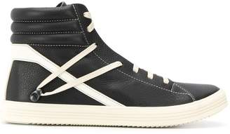 Rick Owens ankle lace-up sneakers