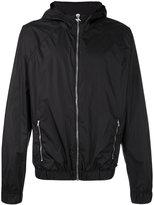 MSGM printed hood jacket - men - Polyamide - 46
