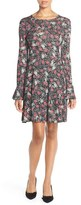 French Connection Women's Floral Print Jersey A-Line Dress
