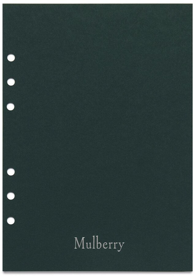 Mulberry Planner Contacts Pages White Paper