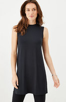 J. Jill Wearever Mock-Neck Sleeveless Tunic