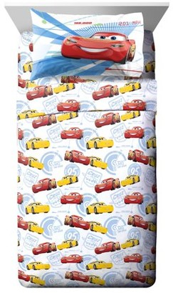 Disney Pixar Cars Cars High Tech Kids Full Bed Sheet Set