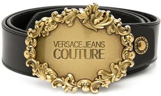Versace Jeans Couture Baroque Buckle Belt