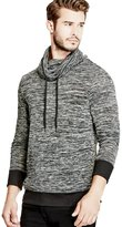 GUESS Men's Twisted Funnel Pullover
