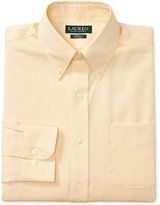 Lauren Ralph Lauren Men's Classic/Regular Fit Non-Iron Pinpoint Oxford Dress Shirt