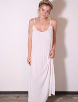 Tysa Long Perfect Dress In Off White