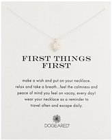 Dogeared First Things First Necklace Tropical Leaf, 18""