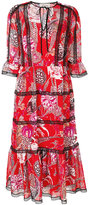 Temperley London Shire printed dress - women - Polyester - 14