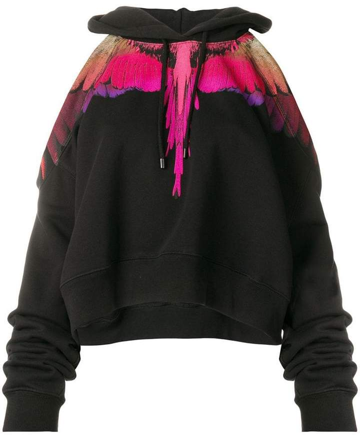 Marcelo Burlon County of Milan Wings cropped hoodie