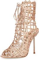 Sophia Webster Delphine Metallic Gladiator Sandal
