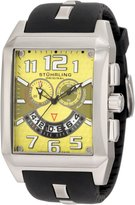 Stuhrling Original Men's 255A.331718 Sportsman Mad Man C-2 Swiss Quartz Chronograph Date Watch