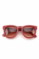 Wildfox Couture Classic Fox Frame Sunglasses in Red