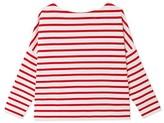 Petit Bateau Womens oversize Breton top