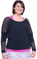 Soybu Plus Size Alma Dolman Raglan Yoga Top
