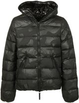 Hydrogen By Duvetica Man Padded Jacket Black Camu