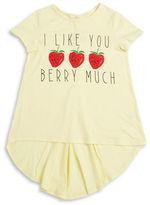 Soprano Girls 7-16 Berry Much Hi-Lo Tee