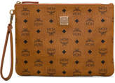 MCM Stark Top Zip Med Pouch For Ipad W/, 001