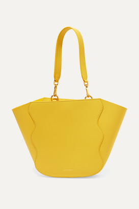 Mansur Gavriel Ocean Mini Leather Tote - Yellow