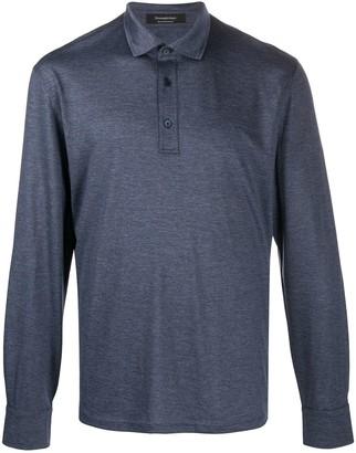 Ermenegildo Zegna Long-Sleeved Polo Shirt