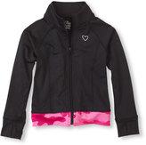 Children's Place Performance active zip-up jacket