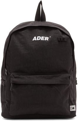 ADER error Black Upside Down Backpack