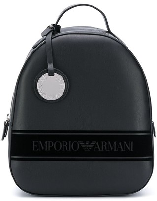 Emporio Armani Logo Tape Backpack