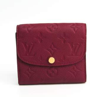 Louis Vuitton Burgundy Leather Wallets