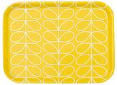 Orla Kiely Small Linear Stem Tray, Sunshine Yellow