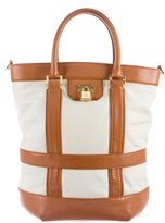 Tory Burch Pebbled Leather Bucket Bag