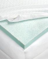 "Lauren Ralph Lauren 3"" Dual Layer Thermaphase GelTM & Energex Support Foam Full Mattress Topper"