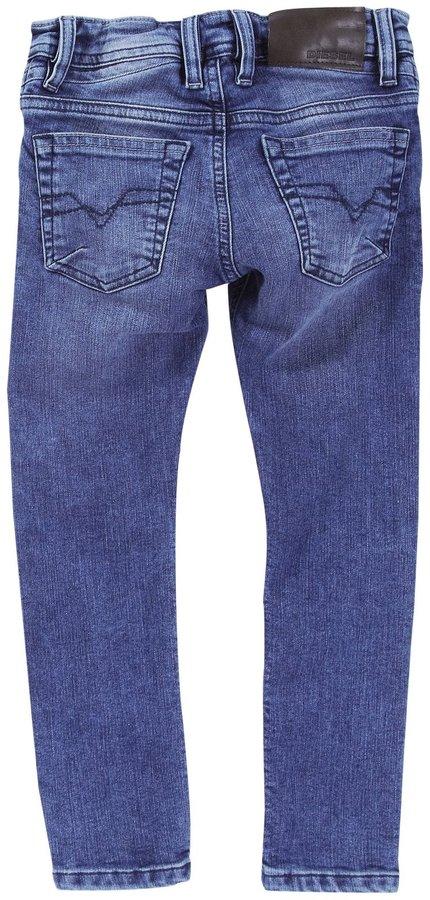 Diesel Shioner - El Skinny Leg Stretch Denim