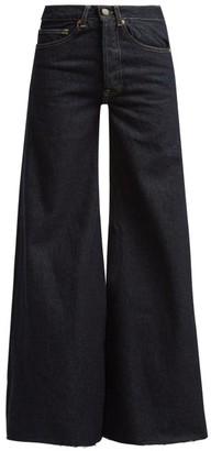 Raey Loon Wide-leg Jeans - Womens - Indigo