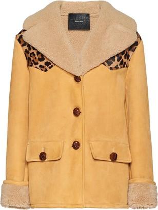 Miu Miu shearling leopard-print jacket