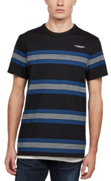 G Star Men's Striped T-Shirt, Created for Macy's