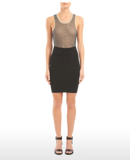 Alexander Wang Stretch Viscose Pencil Skirt
