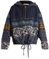 See by Chloe Patchwork hooded jacket