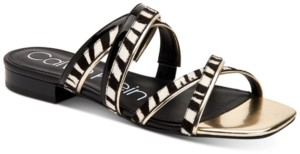 Calvin Klein Missouri Strappy Flat Sandals Women's Shoes