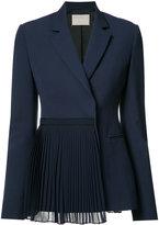 Jason Wu pleated panel blazer - women - Wool - 2