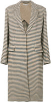Stella McCartney Harper check coat