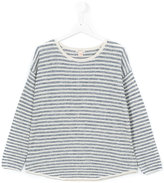 Bellerose Kids - striped blouse - kids - Cotton/Polyester/metal - 14 yrs