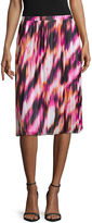 WORTHINGTON Worthington Pleated Soft Midi Skirt